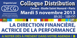 Colloque Distribution DFCG - Paris, le 5 novembre